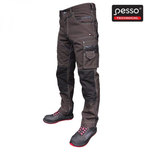 Darbo kelnės Pesso Twillr rudos | Agroinfo.lt