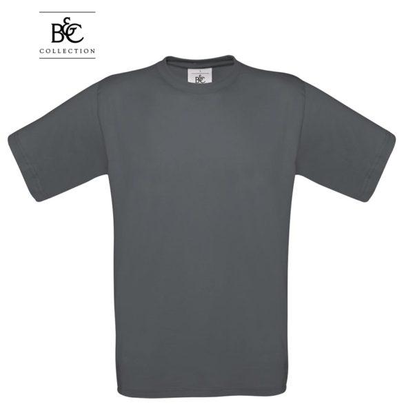 Marškinėliai B&C EXACT 190 tamsiai pilka | Darbo rūbai | AGROINFO.lt