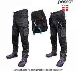 Darbo kelnės Pesso Twill Stretch 215 | Agroinfo.lt